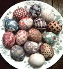 Decorating Easter Eggs With Silk by Silk Dyed Easter Egg Kit Recyled Vintage By Inspirationsbyfaith