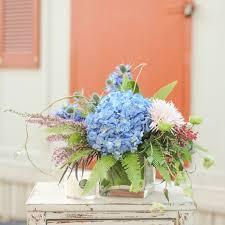 hydrangea bouquet southern hydrangea bouquet in a cube vase in greenville sc