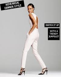 white formal jumpsuit rehearsal dinner fashion dressy jumpsuit bajan wed