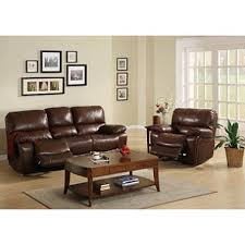 Sofa And Recliner Carlson Leather Sofa Recliner Set Sam S Club