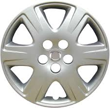 toyota corolla 15 inch rims 61133ams 15 inch aftermarket toyota corolla silver hubcaps wheel