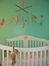 Mermaid Nursery Decor Baby Nursery Decor Green Room Wall Color Mermaid Baby Nursery Sea
