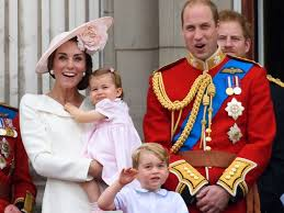 the young british royal family