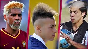 cool soccer hair the 40 ugliest funny and cool hairstyles in football history
