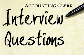 resume sles for accounting clerk interview questions 21 of the best accounting clerk interview questions robert half
