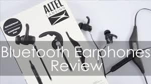 black friday bluetooth stereo headphones altec lansing bluetooth earphones mzw100 review youtube