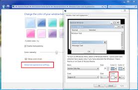 Windows 7 Top Bar How To Change Active Title Bar Text Color In Windows 10 Fall