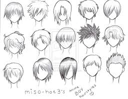 hhort haircut sketches for man anime boy hairstyles drawing posted friday july medium hair styles