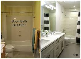 bathroom remodel ideas before and after s bath diy before and after bathroom renovation ideas
