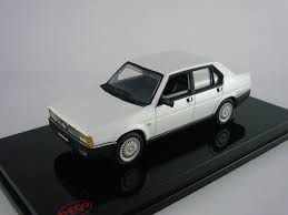 pego car model cars alfa romeo 90 berlina super white pego 1 43
