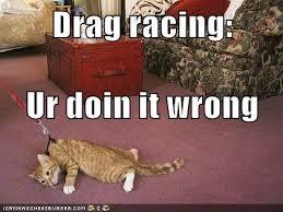 Drag Racing Meme - drag racing lolcats lol cat memes funny cats funny cat