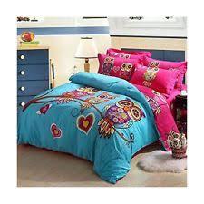 Cute Comforters For Teens Girls Owl Bedding Ebay
