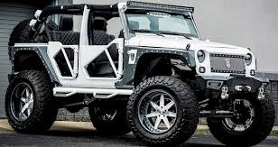 modified white jeep wrangler bms jeep wrangler betty white cars show