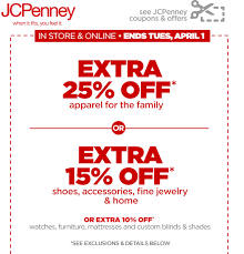free printable jcpenney coupon october 2017