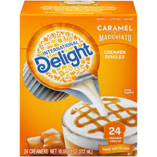 international delight caramel macchiato non dairy coffee creamer