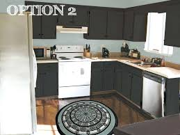 painted black kitchen cabinets kitchen dark cabinets with gray walls plain oak colors dish racks