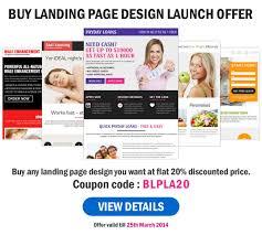landing page design templates website templates