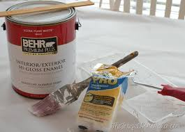 High Gloss Or Semi Gloss For Kitchen Cabinets How To Re Paint Your Yucky White Cabinets