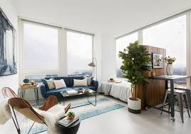 slatted room divider a home makeover that proves small space living can be stylish