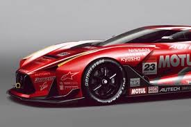 nissan race car nissan 2020 gt concept covered in awesome racing livery