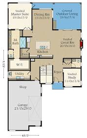 house plans master on angular modern house plan with master on 85213ms
