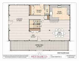 Colonial Floor Plans Open Concept Open Floor Plan Farm Homes Adhome