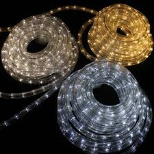 String Lighting Outdoor by Solar Led Rope Lights Outdoor Roselawnlutheran