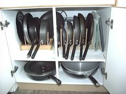 kitchen cabinet door pot and pan lid rack organizer pin by julie bazuzi on for the home pan storage pot
