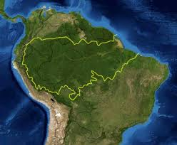south america map rainforest rainforest