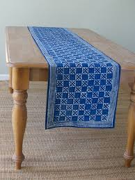 what is a table runner blue batik table runner our blue batik table runner is perfect for