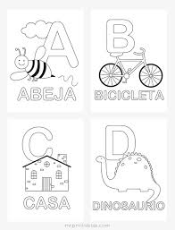 Spanish Alphabet Coloring Pages Mr Printables Coloring Pages For Printable