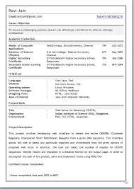 download best resume format for mca freshers resume format for mca student best resume collection