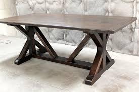 what is a trestle table trestle farm tables