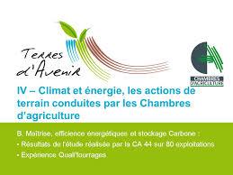 chambre agriculture 31 changement climatique l agriculture pleinement concernée ppt