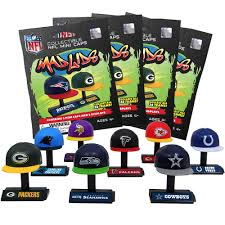 4 blind packs mad lids nfl series 1