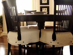 How To Make A Dining Room Chair Dining Room Chair Slipcovers For Special Dinner Event Bedroom Ideas