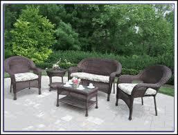 Stackable Wicker Patio Chairs Resin Wicker Patio Chairs Stackable Patios Home Decorating