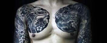 men chest nice japanese chest tattoos golfian com