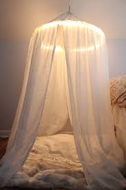 Bed Canopy With Lights 10 Diy Canopy Beds Bedroom And Canopy Decorating Ideas