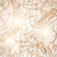 brown seamless wallpaper with floral ornament with leafs and