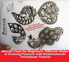 mehndi class for beginners different basic styles of drawing