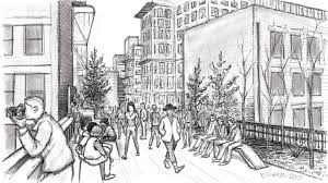 chelsea highline sketching cityscapes on the ipad youtube