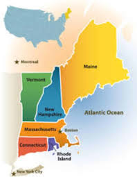 New England Map by New England Mold Remediation Resources Mold Cleaner Today