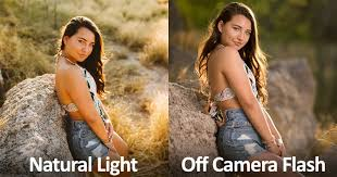 Model Photography Light Vs Flash Two Photographers Shoot The