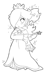 rosalina coloring pages