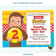 22 curious george party images curious george