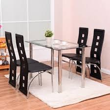 Black Extendable Dining Table Dining Table Black Dining Room Table And Chairs Pythonet Home