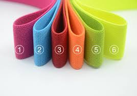 elastic ribbon by the yard 1 5 38mm wide colored side twill elastic band
