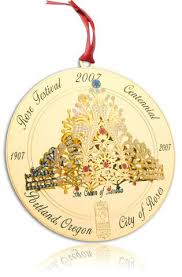 2007 portland ornament rose festival centennial the crown of rosari