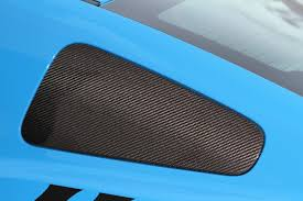 mustang window covers mustang carbon fiber window covers